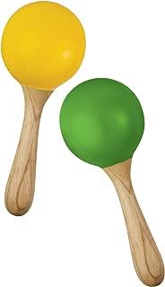 Green Tones Hohner Egg Maracas, inch (3765)