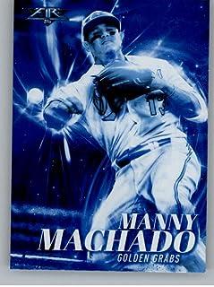 2017 Topps Fire Golden Grabs Blue Chip #GG-2 Manny Machado NM-MT Orioles