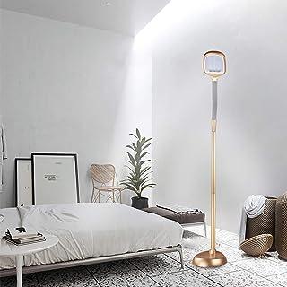WRQINGフロアライトLEDモダン、スタンディングランプ調整可能なフレキシブルグースネック、タッチコントロール3色温度5レベル輝度レベル調光可能、読書灯フロアスタンディング (Color : H152CM)