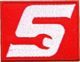 Snap on Racing Tool Logo Sign Racing Patch Iron on Applique Embroidered T shirt Jacket BY SURAPAN