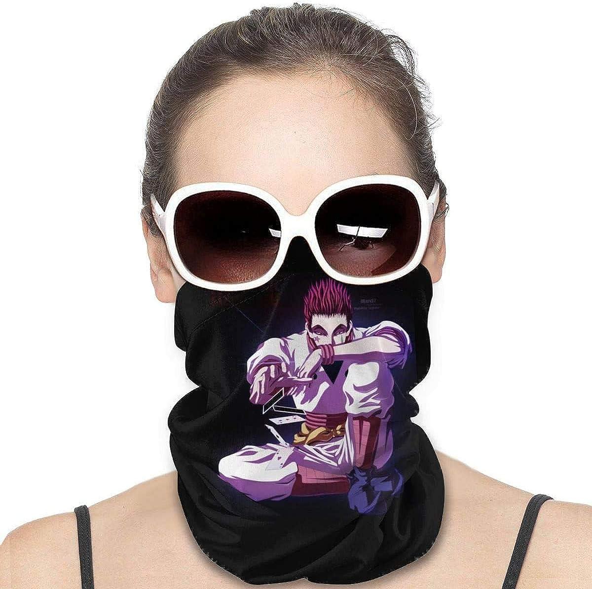 NIUZOOM Hunter X Hunter Hisoka Morow Microfiber Headband for Men Women Adjustable Hair-Band