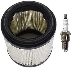 Swess 7080369 Air Filter for Polaris ATV Sportsman Big Boss Trail Blazer Xplorer Xpress 250 300 350L 400 400L with Spark Plug