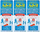 Advil Children's Suspension, Fruit Flavored 4 Oz (Pack of 3)