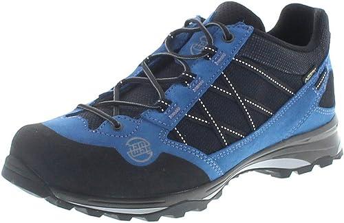 Hanwag - Belorado II II Faible GTX Hommes Chaussures de randonnée (Noir Bleu)  pour votre style de jeu aux meilleurs prix