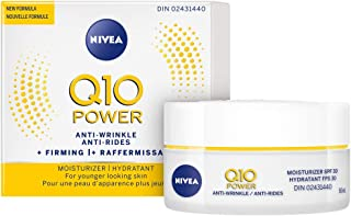 Q10 POWER Anti-wrinkle SPF 30 + Firming Moisturizer 50 mL, Anti-Aging Cream Fights Fine Lines and Wrinkles, SPF Face Moist...