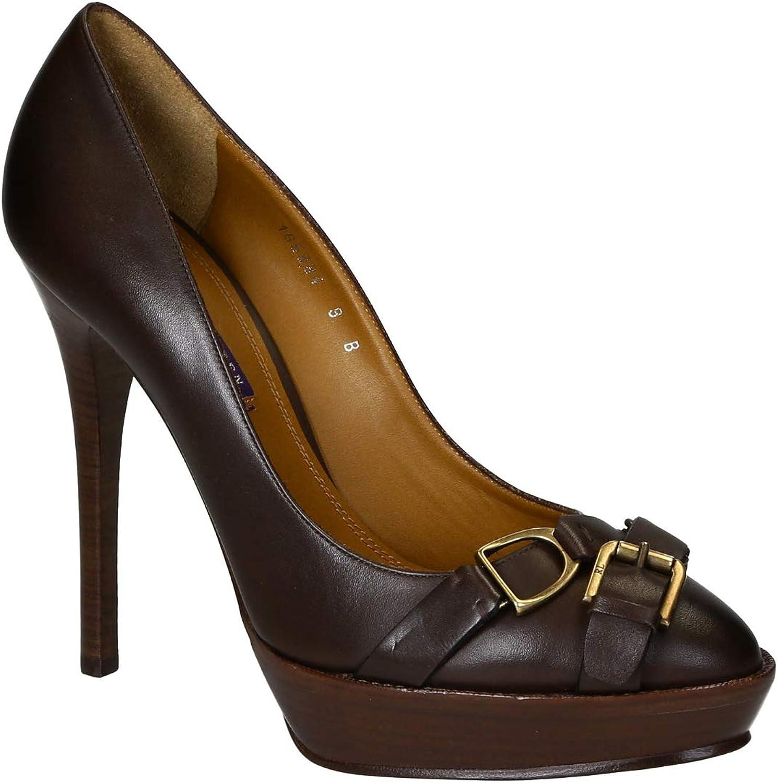 Ralph Lauren Women's Leather Peep Toes shoes