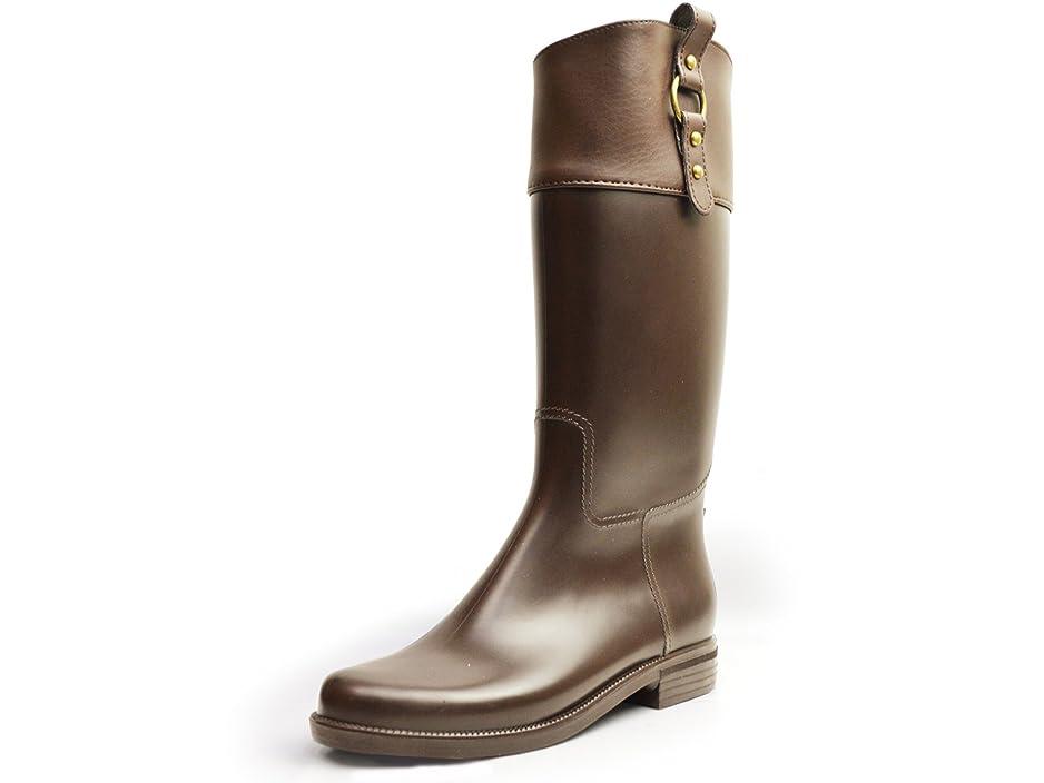 めったに発行出口[イーラ] レインブーツ レディース ロング ジョッキー 防水 雨靴 長靴 靴 レイン スノー シューズ ブーツ