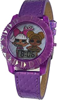 LOL Surprise! Light Up Purple Digital Watch