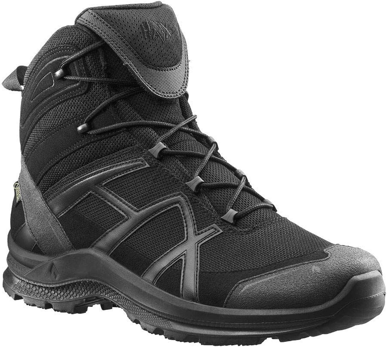 Haix schwarz Eagle Athletic 2.0 GTX mid schwarz Trittfest und bequem  Robuste Allround-Schuhe für Beruf und Freizeit