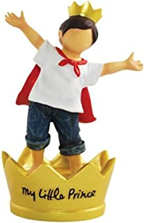 WL SS-WL-18474, 4.75 Inch Boy in Blue Jeans My Little Prince Collectible Figurine 4.75