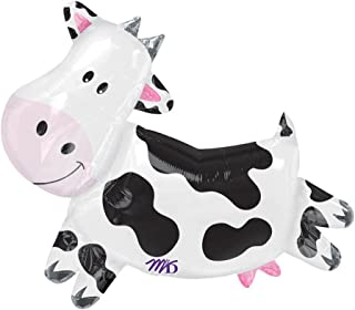 """Cute Cow 30"""" Foil Party Balloon"""