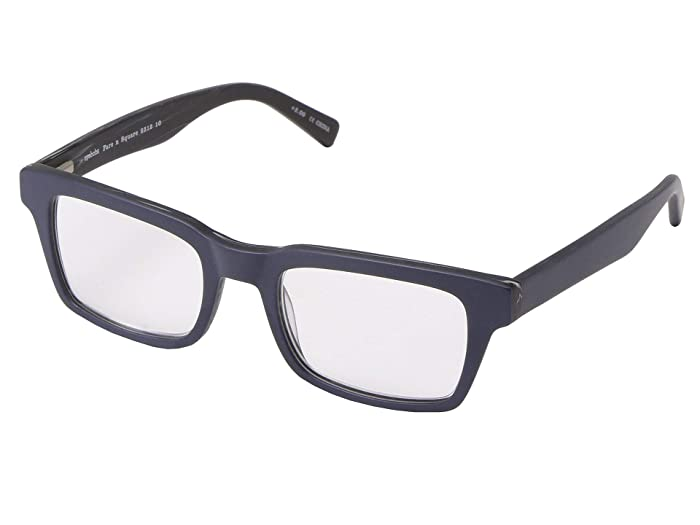Fare N Square (Matte Navy) Reading Glasses Sunglasses
