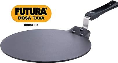 Hawkins Futura Non Stick Dosa Tawa, 33cm, Black