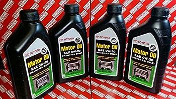 TOYOTA Genuine OEM 00279-0WQTE-01 Oil  4 QUARTS