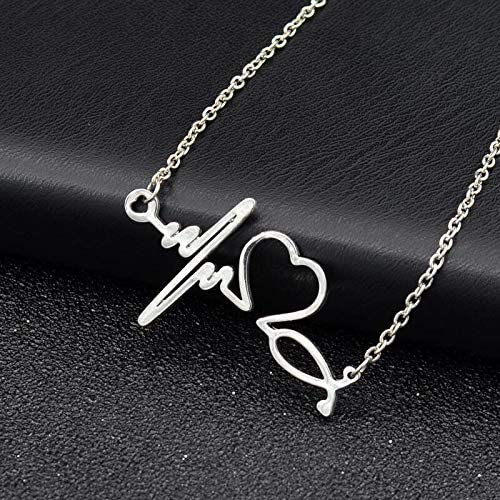 Silver Colored Y Style 20 DogPuppy Theme Lariat Necklace