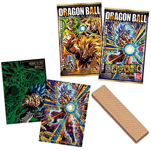ドラゴンボール ポストアートウエハース UNLIMITED 3 (20個入) 食玩・ウエハース (ドラゴンボール超)