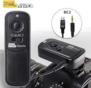 Pixel RW-221 DC2 Wireless Remote Commander Shutter Release Cable Controller for Nikon D3100 D5000 D7200 D600 D610 D750 Digital SLR Cameras Replaces Nikon MC-DC2