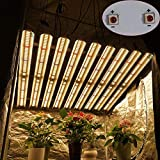 Plant Growth Light, 1000 W Led Grow Light Bar, Lm301h Ir Uv Indoor Plant Full Spectrum Led Bar Grow Light,stepless Dimming, Easy to Install