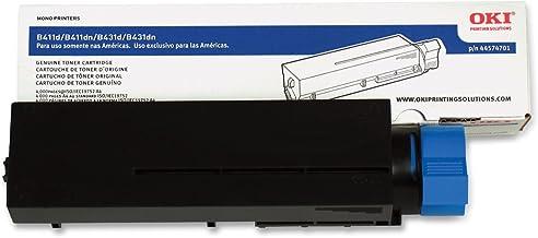 OkiData 44574701 Toner Cartridge for B411/B431 Series Printers, 4000 Page Yield, Black