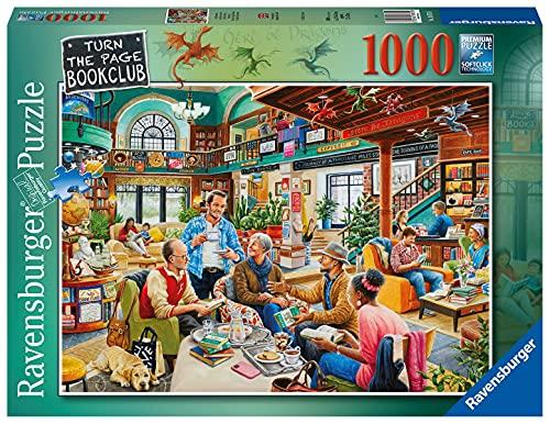 Ravensburger Turn The Page Buchclub Puzzles für Erwachsene und Kinder, ab 12 Jahren