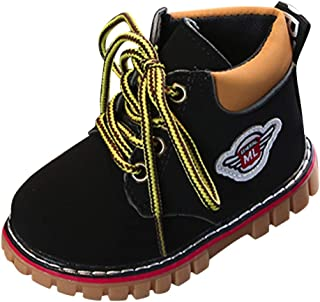 Geetobby Children Boys Girls Warm Snow Boots Baby Short Martin Boots Sport Shoes