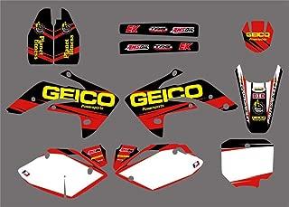 honda crf150r geico graphics