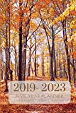 2019-2023 Five Year Planner Nature Monthly Schedule Organizer: Pocket Mini Academic 60 Months Calendar; Slim Agenda...