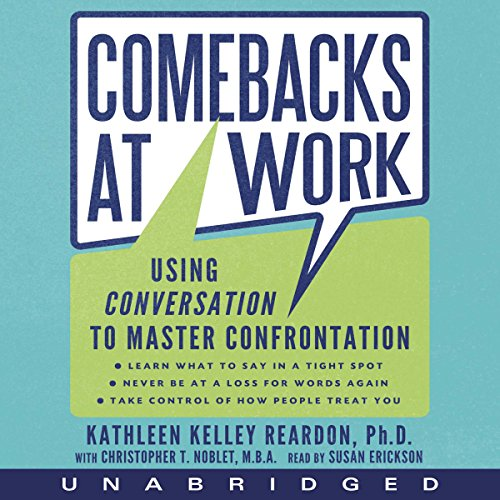 Comebacks at Work audiobook cover art