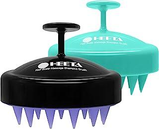 2-Pack Hair Scalp Massager Shampoo Brush, Heeta Wet and Dry Hair Scalp Brush with Soft..