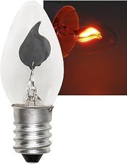 McShine Flickering Candle Light Bulb E14 230 V 3 W