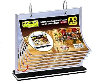 T-Type A5 Multi-Page Card Flip menu Card Price Card Display Card Wine Plate billboards