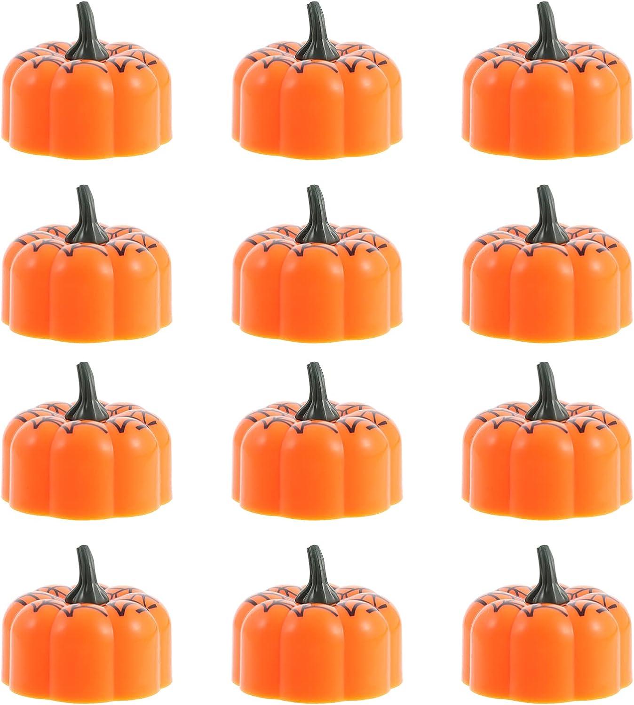 BESPORTBLE Light up Pumpkin Decor Lamps Candle Simulated Hallowe Mail order Memphis Mall cheap