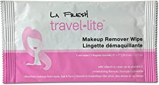 La Fresh Travel Lite Makeup Remover Wipes (Packed 500)