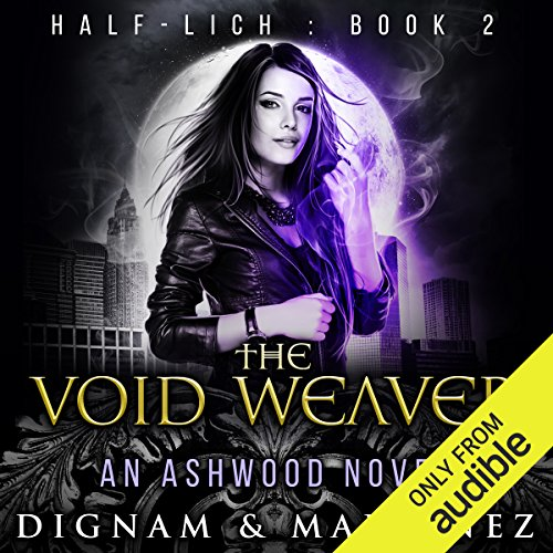 The Void Weaver audiobook cover art