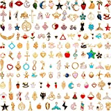 150 Pieces Assorted Enamel Charm...