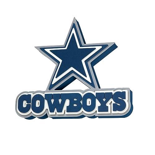 03648a4f9c0 NFL Dallas Cowboys 3D Foam Wall Sign