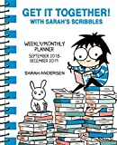 Get It Together! with Sarah's Scribbles 2018-2019 Weekly/Monthly...