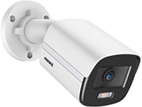 ANNKE NC400 PoE IP Camera Acme Color Night Vision, 4MP Security Bullet Camera with Metal Housing, 120db WDR & 3D DNR, Cust...