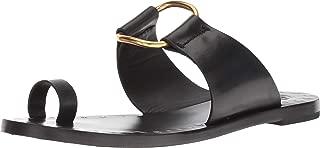Black Brannan Studded Leather Sandals
