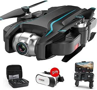 WEIFLY Drone con Camara 4K HD,GPS 40 Minutos de Tiempo de Vuelo, Drone con Cámara 1080P HD con Follow Me