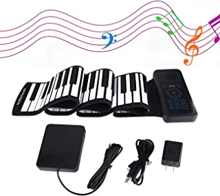 88-Keys Roll Up Piano Keyboard 2020 Upgraded Music Keyboard