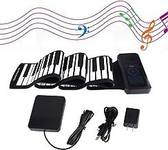 88-Keys Roll Up Piano Keyboard 2020 Upgraded Music Keyboard