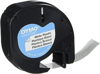 Dymo LetraTag Etiquetado 12mm x 4m de cinta de plástico - N