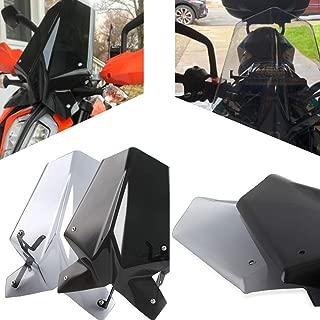 Duke 390 125 AccessoriesTouring Racing Windscreen Windshield Screen with Mounting Bracket For KTM Duke 125 390