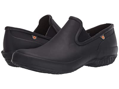 Bogs Patch Slip-On Solid (Black) Women