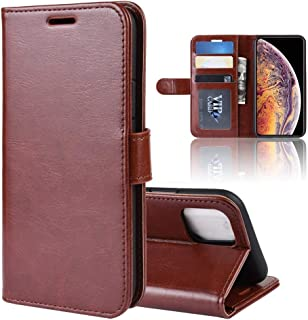 Protect Your Phone, R64 Texture Single Fold Horizontal Flip Leather Case for iPhone XI MAX, with Holder & Card Slots & Wallet for Cellphone. (Color : Brown)