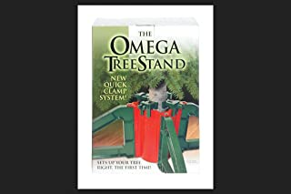 """Omega OM-1 Resin Knock Down Tree Stand, 10"""""""