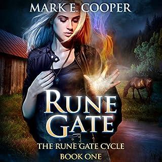 Rune Gate audiobook cover art