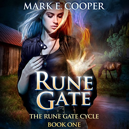 Rune Gate     Rune Gate Cycle, Book 1              By:                                                                                                                                 Mark E. Cooper                               Narrated by:                                                                                                                                 Mikael Naramore                      Length: 7 hrs and 12 mins     149 ratings     Overall 4.0