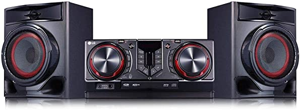 Mini System XBoom CJ44, 440W, Multi Bluetooth, Dual USB,